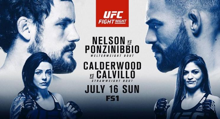 UFC Fight Night: Nelson vs. Ponzinibbio na Extreme Sports Channel