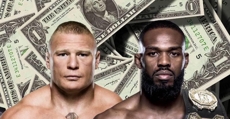 Jon Jones, Brock Lesnar i miliony dolarów