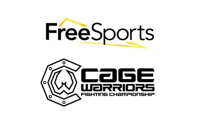 Cage Warriors z nową umową telewizyjną FreeSports Free Sports