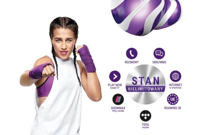 Joanna Jędrzejczyk w reklamie Play