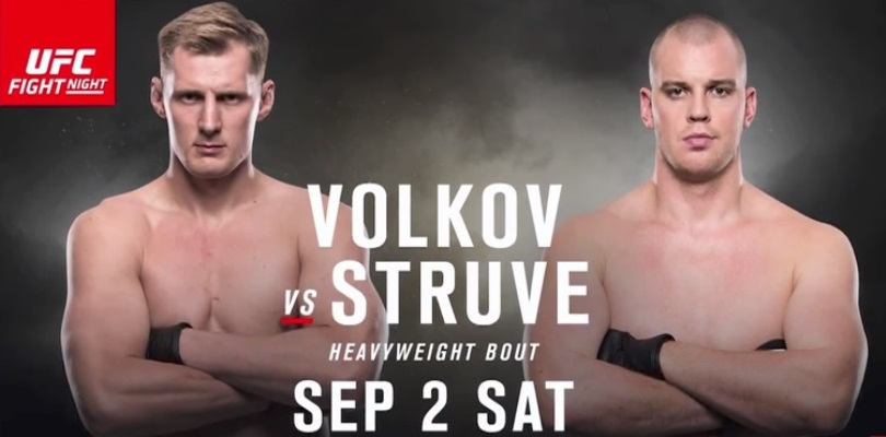 UFC Fight Night Volkov vs. Struve na Extreme Sports Channel