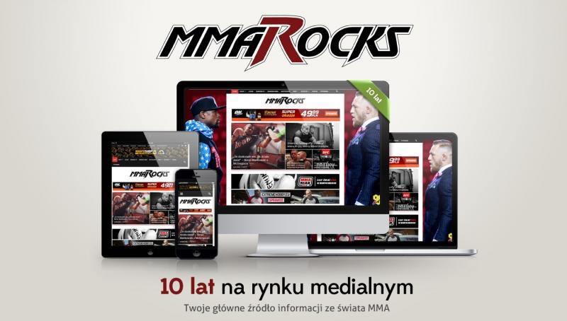 MMARocks.pl kończy dziesiąty rok działalności