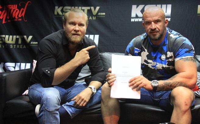Tomasz Oświeciński podpisał kontrakt z KSW