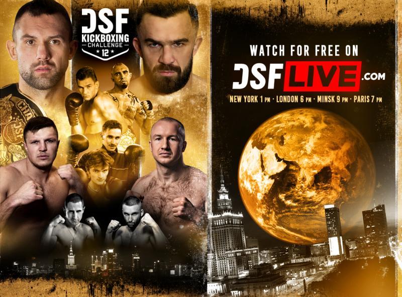 DSF Kickboxing Challenge 12 - transmisja