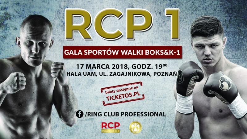 RCP 1 Gala Sportów Walki Boks & K-1