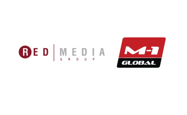 M-1 Global red media
