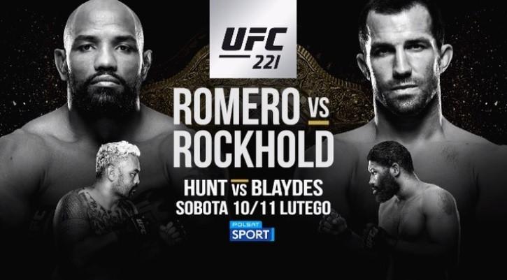 Transmisja UFC 221