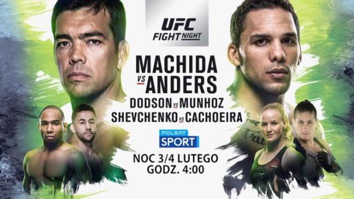 UFC Fight Night: Machida vs Anders w Polsacie Sport