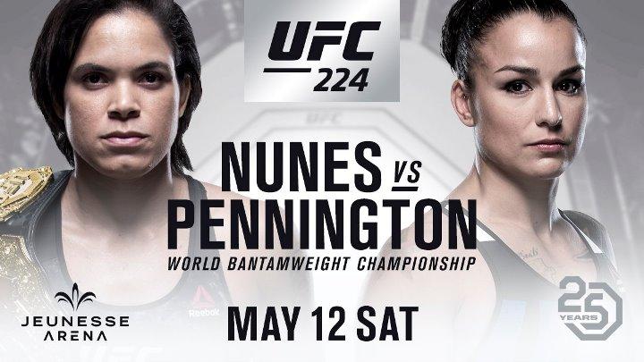Transmisja UFC 224 w Polsacie Sport!