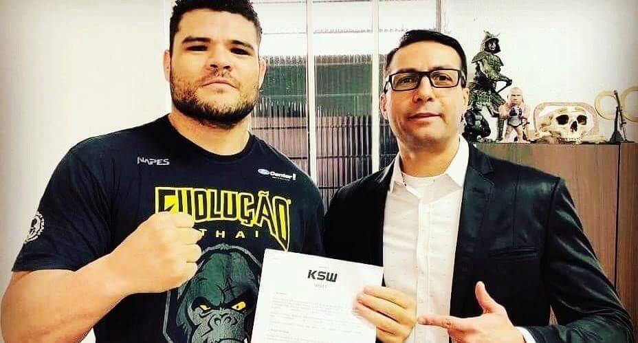 Wagner Prado podpisał kontrakt z KSW