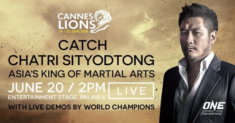 Chatri Sityodtong mówcą na Cannes Lions