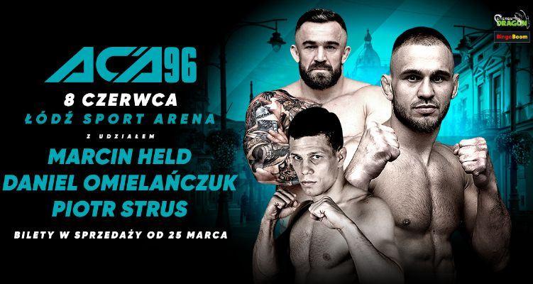 Gala ACA 96 już w czerwcu w Łodzi