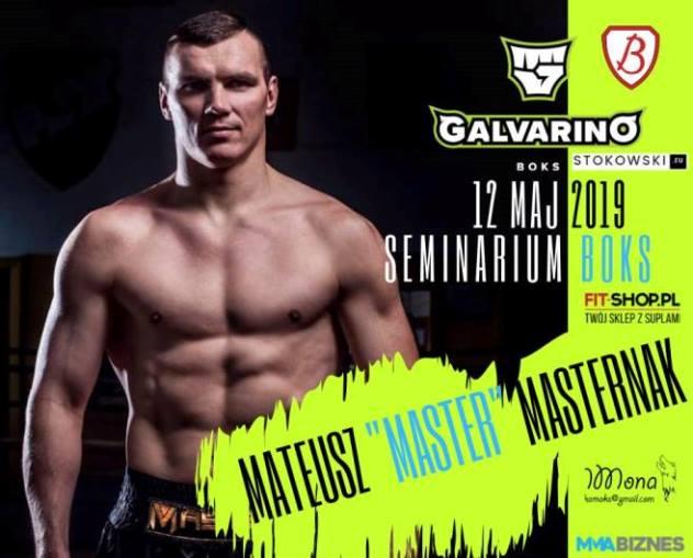 Seminarium bokserskie z Mateuszem Masternakiem