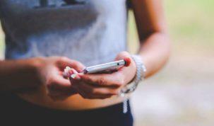 social media smartfon